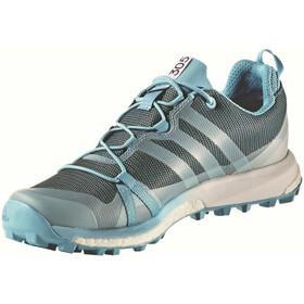 adidas TERREX Agravic GTX Shoes Women vapour blueclear aqua/ftwr white
